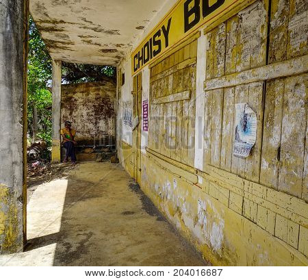 Old Grocery Store In Mauritius Island