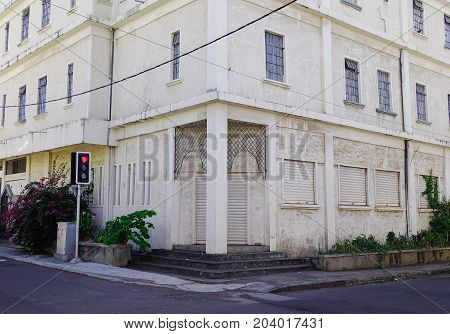 Old Building In Port Louis, Capital Of Mauritius