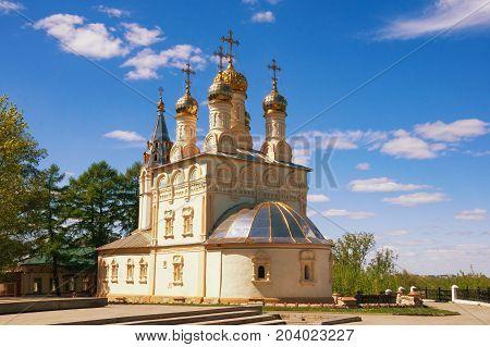 Orthodox church of the Transfiguration. Ryazan city, Russia
