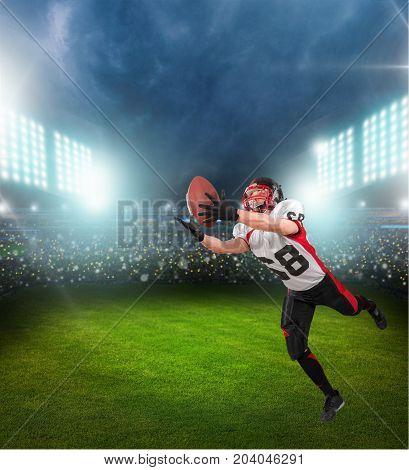 Play ball player football football player game sport