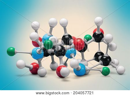 Structure molecular group objects background concepts equipment