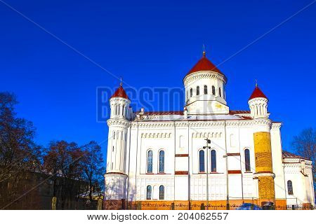 The Cathedral Of The Most Pure Mother Of God, Vilnius, Lithuania