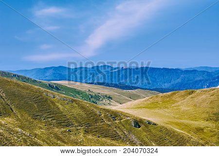 Cota 2000 in Bucegi Mountains Sinaia Romania poster