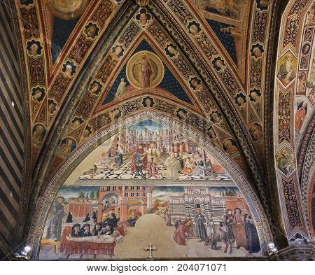 Siena Baptistery