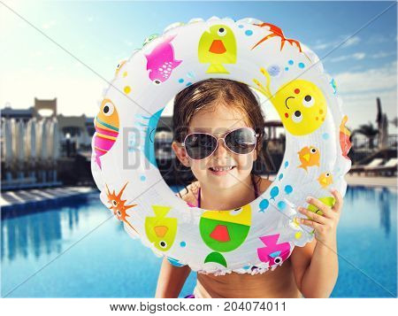 Holiday girl summer cute elementary age well being child care