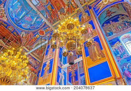 The Beauty Of Suzdal Nativity Cathedral