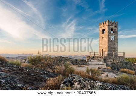 Torre Sineira or Campanario in Sortelha Portugal