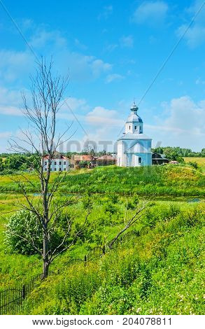 The Church On The Green Meadow, Suzdal