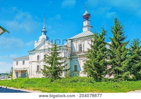 The Cross Church Of St Nicholas In Suzdal