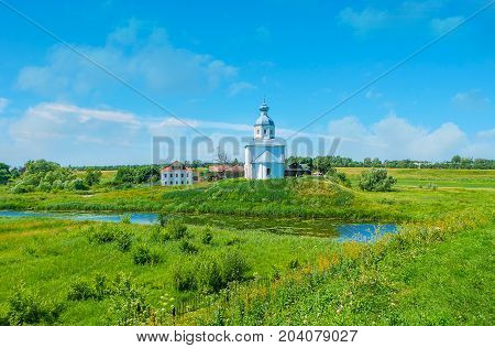The Temples Of Suzdal