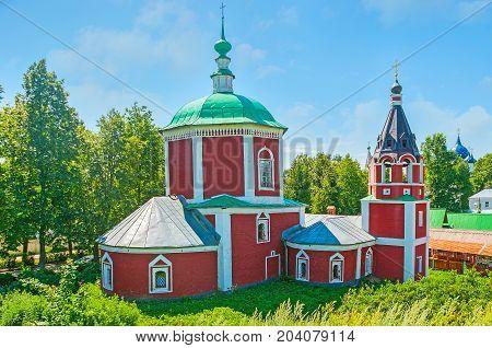 Assumption Church Of Suzdal Kremlin