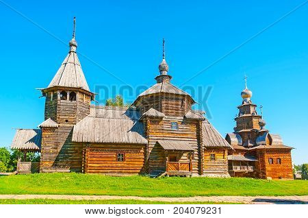 The Wooden Churches In Suzdal