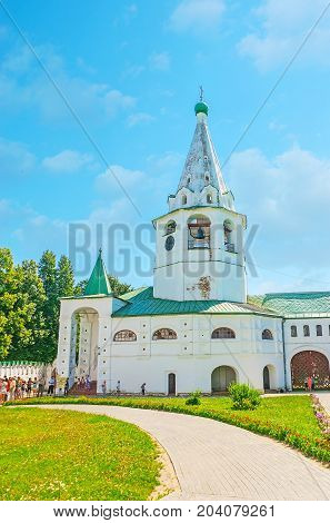 Cathedral Bell Tower Of Suzdal Kremlin
