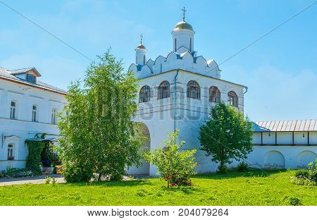 The Annunciation Church Of Suzdal Intercession Monastery