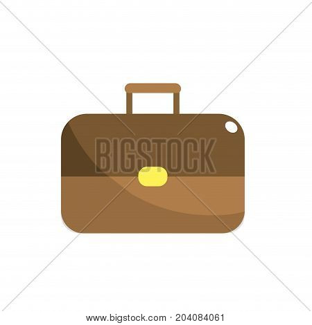 business suitcase to save important document vector illustration