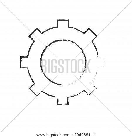 figure technology web tools symbol icon vector illustration