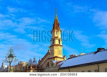 Orthodox Church of St. Nicholas at Vilnius, Lithuania