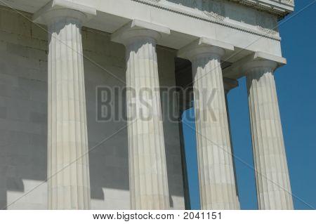 Lincoln Memorial Detail
