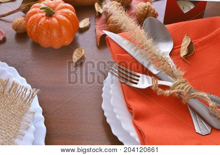 Thanksgiving Day Festive Background