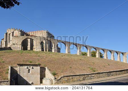 Monastery of Santa Clara and Aqueduct Vila do Conde Douro Region Northern Portugal