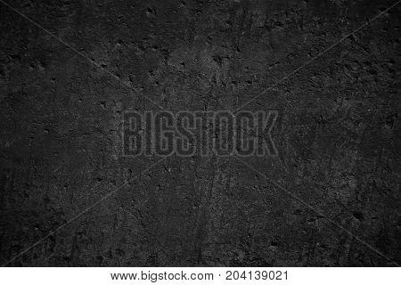 Black Old Stone Texture