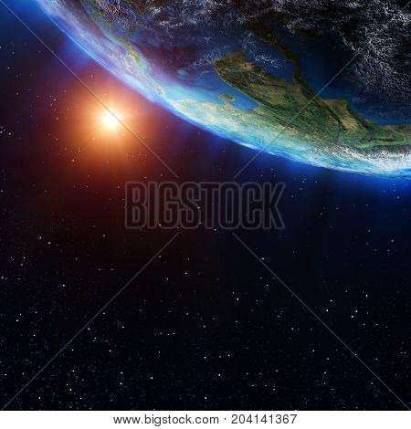 Southeast Asia map. Elements of this image furnished by NASA 3d rendering
