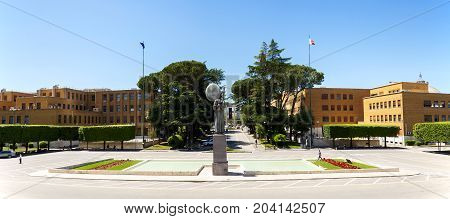 View Of Sapienza University City , Rome