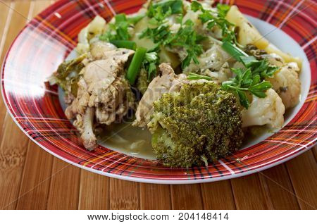 French Stewed Potatoes With Chicken