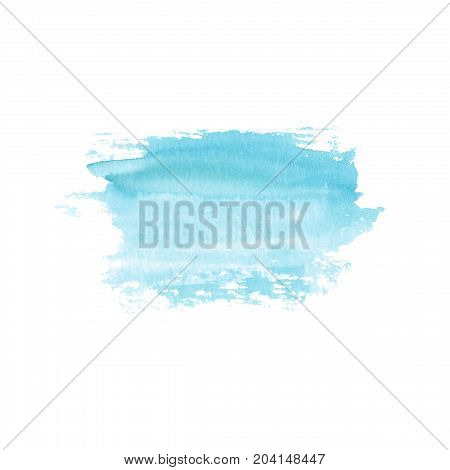 Abstract Blue Stain