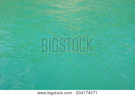 Emerald sea at Krabi , Thailand .
