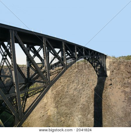 Bridge Over Crooked River Canyon
