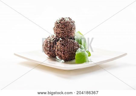 Truffles Chocolate Made In Home