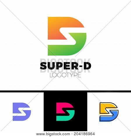 Vector Graphic D And S Letter Symbol For Your Company
