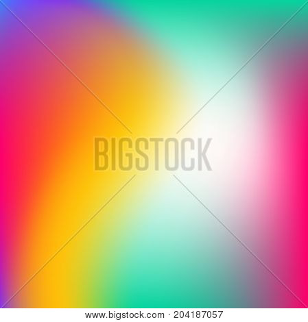 Gradient Mesh Abstract Background. Colorful Fluid Shapes For Poster, Banner, Flyer And Presentation.