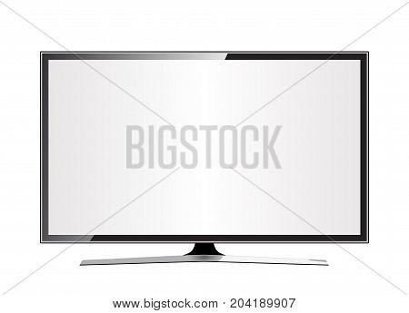 TV flat screen lcd plasma realistic .