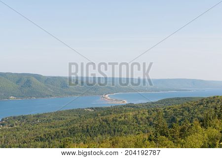 St. Ann's Harbor and Bay Englishtown Cape Breton Island Nova Scotia Canada