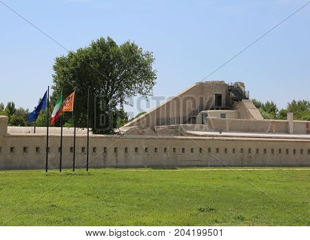 Great Fortification Of World War I In Northern Italy