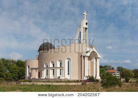 Albanian Catholic Church St. Marko. Doni Stoj town, Montenegro