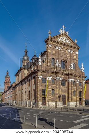 The church of St. Michael is a Roman Catholic church in Wurzburg Germany