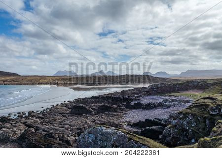 Achnahaird Bay and Inverpolly on the west coast of Scotland.