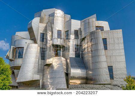 Frederick R. Weisman Art Museum At University Of Minnesota