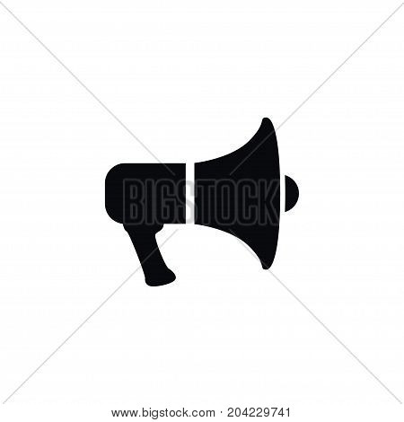 Megaphone Vector Element Can Be Used For Megaphone, Amplification, Bullhorn Design Concept.  Isolated Amplification Icon.