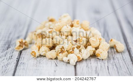 Popcorn Close-up Shot, Selective Focus