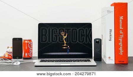 Apple Keynote With Tim Cook Apple Tv Emmy Award