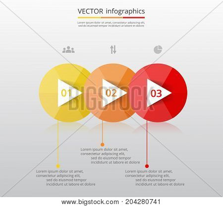 Abstract 3D Infographic Template.