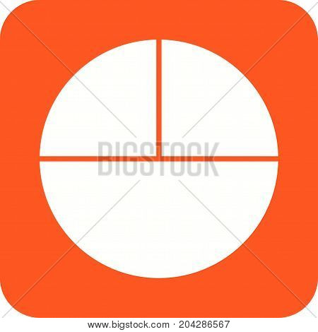 Circle, maths, geometry icon vector image. Can also be used for Math Symbols. Suitable for mobile apps, web apps and print media.