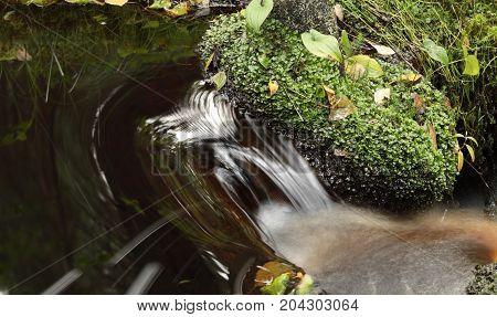 fast stream cascade water long exposure soften