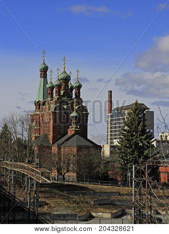 St. Alexander Nevski Orthodox church of Tampere, Finland