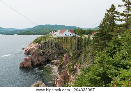 Cape Breton Highlands Ingonish Cape Breton Island Nova Scotia Canada