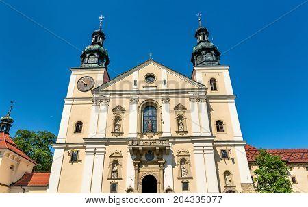 Monastery of Kalwaria Zebrzydowska, a UNESCO world heritage site in Lesser Poland
